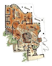 Earth Homes Plans Curved Wall Floor Plans They Have Cool Castle Floor Plans Too