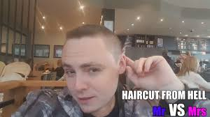 haircut from hell mr vs mrs vlog 6 youtube
