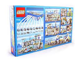 police headquarters lego set 7744 1 nisb building sets u003e city