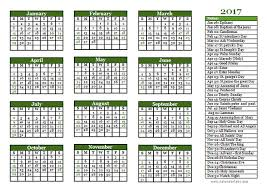 2017 christian festivals calendar template free printable templates