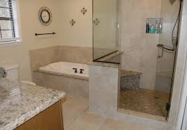 corner tub with shower that the shower is combined but that