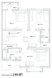Pakistan House Designs Floor Plans 4 Marla House Plan In Pakistan House Plans