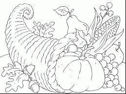 incredible cornucopia coloring page alphabrainsz net