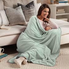 nap throw blanket at brookstone buy now