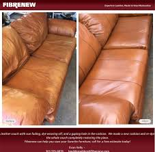 Can You Dye Leather Sofas Restore Your Leather Furniture With Fibrenew This Leather