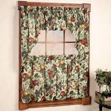 grape design kitchen curtains home decoration ideas