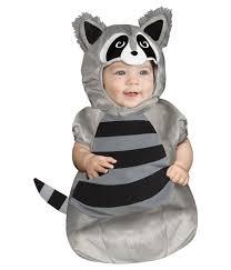 Baby Animal Halloween Costumes Baby Bunting Raccoon Cutie Halloween Animal Infant Costume 0 9