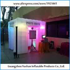 photo booth purchase 8ft white cube led lights portable photo booth purchase