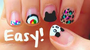 nail art nail artr short nails beginners with at home easy
