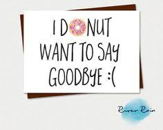 farewell card template word happy travels or goodbye card by kay barker stationary