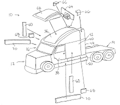 patent us6883860 kit and method for truck cab conversion