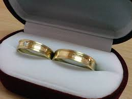 wedding rings in box inexpensive wedding rings wedding rings box