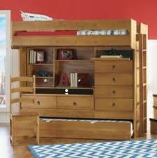 bunk bed with desk dresser and trundle loft bed with desk dresser trundle in one loft beds beds and