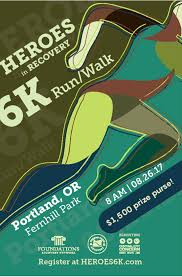 Portland Or Traffic Map by Portland Heroes 6k Heroes In Recovery Celebrating Recovery And