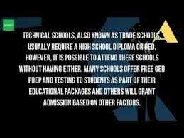 Interior Design Trade Schools Can I Go To A Trade Without A Diploma Youtube