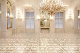 patterned ceramic floor tile bathroom cabinet hardware room