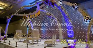 wedding backdrop themes indian wedding decor photo galleries utopian events