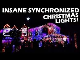 synchronized light show loop of lights vlog