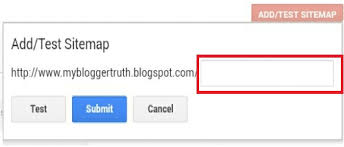 Sitemap Blog How To Submit A Sitemap On A Blogger Blog Quick Steps My