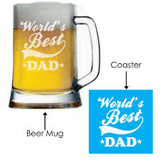 Best Mug by Engraved World U0027s Best Dad Beer Mug Giftsmate