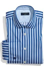 ted baker trim fit striped dress shirt suitored