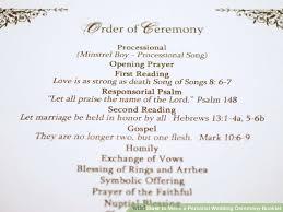 catholic wedding readings wedding program enchanting wedding ceremony booklet wedding