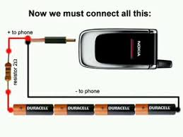 Charge Your Phone How To Charge Your Cell Phones With Normal Batteries