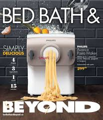 bed bath u0026 beyond canada flyers