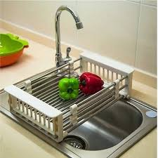 kitchen sink drainer tray kitchen sink drainer trays amazing omni small chrome dipped dish