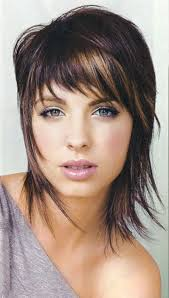 short edgy haircut layered medium hairstyles for all face shapes