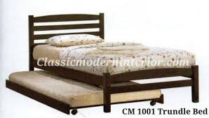 Pullout Bed Bed Frame Classicmodern