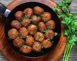 cuisine orientale recette recette boulettes de boeuf à l orientale