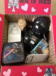 wars valentines day wars s day care package most of the goodies came