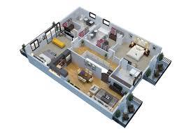 the 2d3d floor plan company flat 29 per floor plan