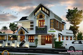 super cute modern house plan kerala home design and floor plans