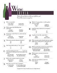 wine trivia home brewing pinterest trivia wine and wine parties