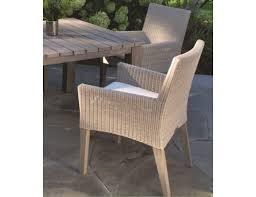kingsley bate paris wicker dining arm chair pr15