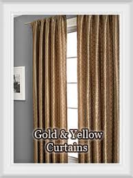Gold Color Curtains Curtains By Color Bestwindowtreatments