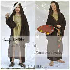 catholic all year last minute twofer costumes for halloween and