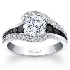 black white rings images Black white diamond engagement rings ben garelick jpg