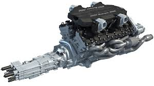 lamborghini aventador curb weight v12 engine with transmission 3d model