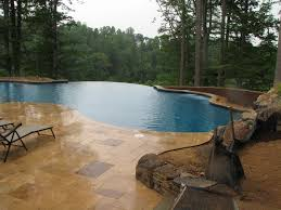 Infinity Pool Backyard by Infinity Pool Crozet Va Augusta Aquatics