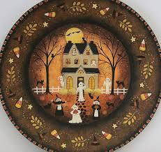 ravens bend folk art hand painted folk art by sharon wittke