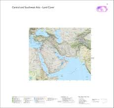 Central And Southwest Asia Map by Radicalcartography