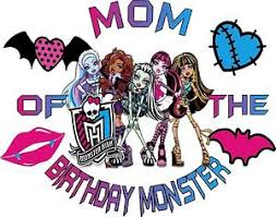 mom birthday monster shirt birthday monster