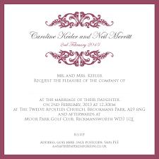 Abbreviation Of Rsvp In Invitation Card Invitation Wording For Wedding Reception Invitation Ideas