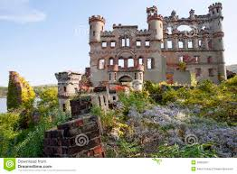 castle ruins and overgrown gardens stock photo image 39952591