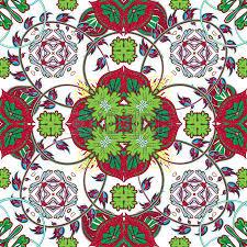 italian traditional ornament mediterranean seamless pattern