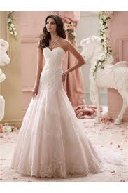 pink lace wedding dress strapless sweetheart blush pink lace wedding dress with buttons
