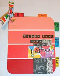 Paint Chips by Live Love Scrap Mini Album Monday 28